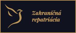Pohrebná služba posol - Zahraničná repatriácia