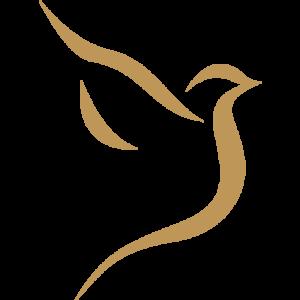 Pohrebná služa Posol - Logo-Holubička