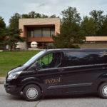 Pohrebná služa Posol - Pohrebné vozidlo Ford Tansit custom